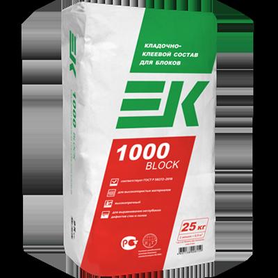 ЕК 1000 BLOCK Клей для блоков