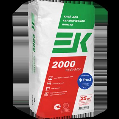 ЕК 2000 KERAMIK FROST Клей для керамической плитки