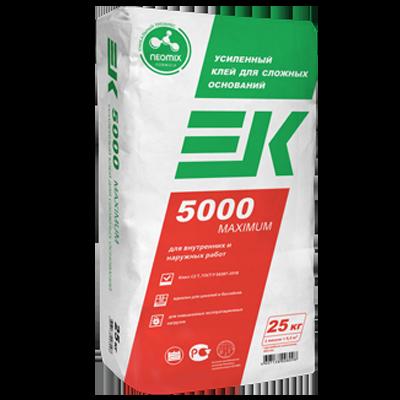 ЕК 5000 MAXIMUM Усиленный клей для сложных оснований