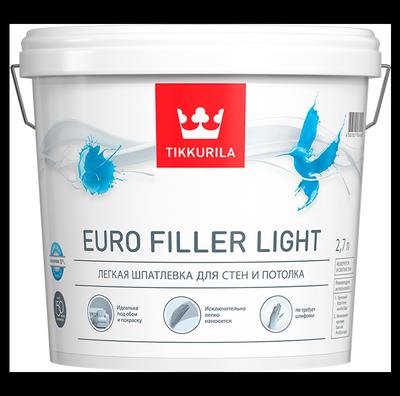 Шпатлевка легкая EURO FILLER LIGHT
