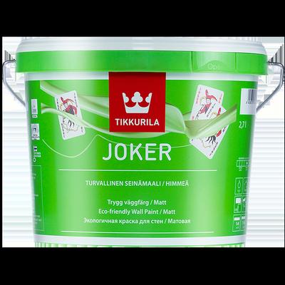 Краска интерьерная моющаяся JOKER