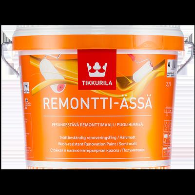 Краска стойкая к мытью REMONTTI-ASSA