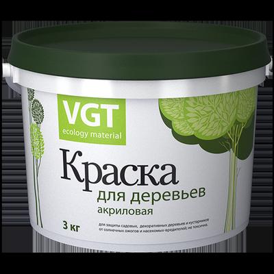 Краска ВД-АК-1180 для деревьев