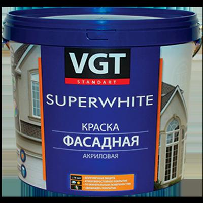 Краска ВД-АК-1180 фасадная Супербелая