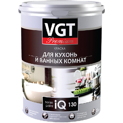 Краска для кухни и ванной комнаты iQ130