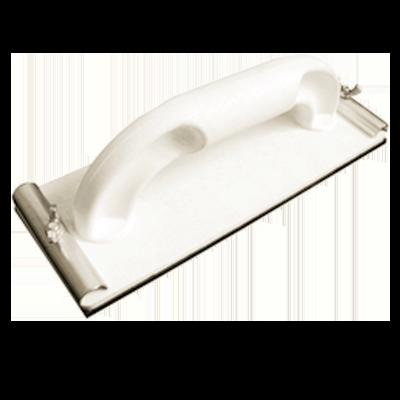 Оправка шлифовальная пластик основание накладка из мягкой синтететической резины, металлические зажимы, 230х85мм 32-2-004