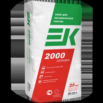 ЕК 2000 KERAMIK Клей для керамической плитки