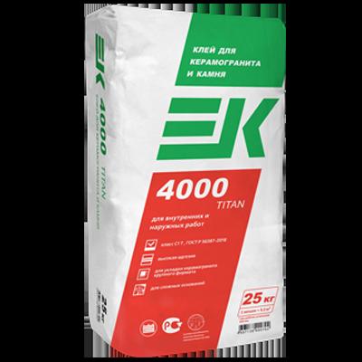 ЕК 4000 TITAN Клей для керамогранита и камня