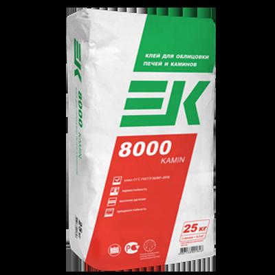 ЕК 8000 KAMIN Клей для облицовки печей и каминов