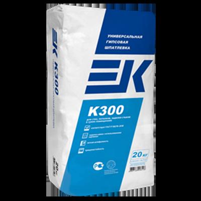 ЕК K300 Универсальная гипсовая шпатлевка