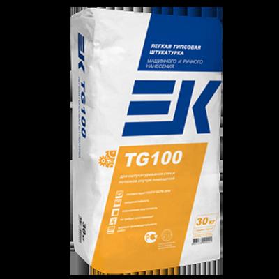 ЕК TG100 Легкая гипсовая штукатурка машинного и ручного нанесения