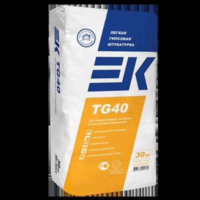 ЕК TG40 Легкая гипсовая штукатурка