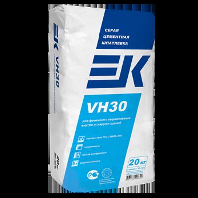 ЕК VH30 Серая цементная шпатлевка