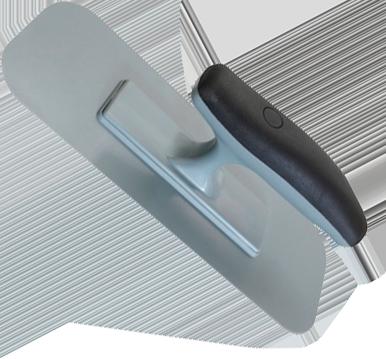 Кельма пластиковая овал STM D1147