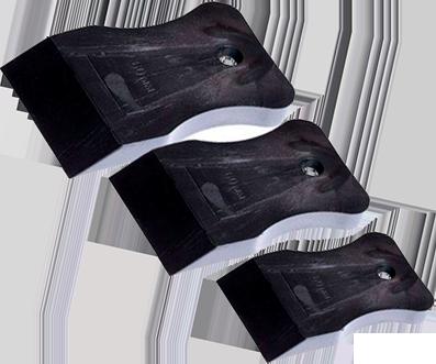 Шпатель резиновый 60мм (черный) 12-2-106