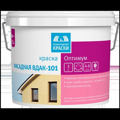 Краска фасадная ВДАК-101 Оптимум