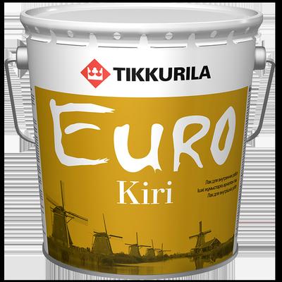 Лак паркетный EURO KIRI Глянцевый
