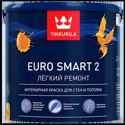 Краска интерьерная EURO SMART 2