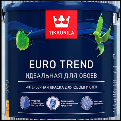 Краска для обоев и стен EURO TREND