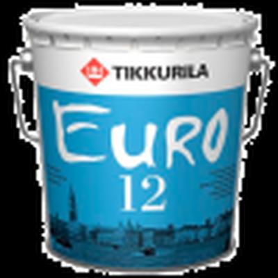 Краска интерьерная EURO 12