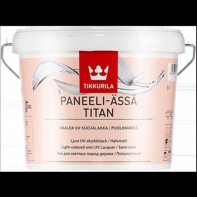 Лак интерьерный PANEELI-ASSA TITAN