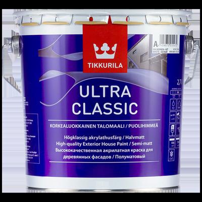 Краска фасадная ULTRA CLASSIC